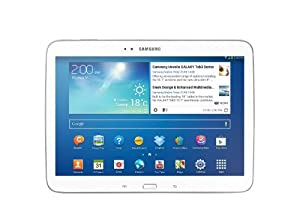 Samsung Galaxy Tab 3 10.1-inch Tablet (White) - (Dual Core 1.6GHz Processor, 1GB RAM, 16GB Storage, Wi-Fi, BT, 2x Camera, Android 4.2) by Samsung