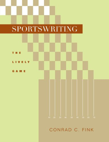 Sportswriting: The Lively Game