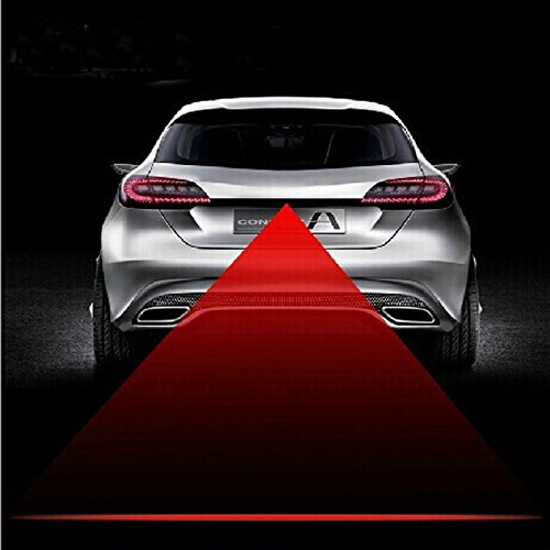 Hamist Car Laser Fog Lamp Laser Prevent Tail Fog Light Automobile Rear End Collision
