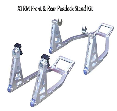 motorbike-xtrm-paddock-stand-set-motorcycle-heavy-duty-aluminium-front-rear-universal-paddock-stand-