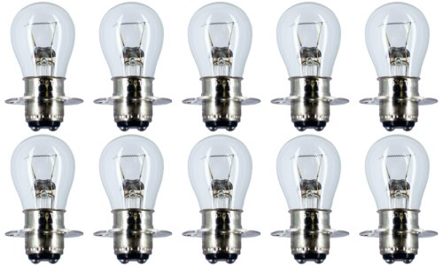 Cec Industries #1634 Leitz Leica B&L Microscopes Bulbs, 20 V, 20 W, P15D Base, S-8 Shape (Box Of 10)