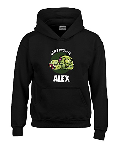 Halloween Costume Alex Little Brother Funny Boys Personalized Gift - Kids Hoodie