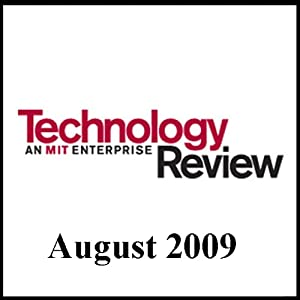 Audible Technology Review, August 2009 | [Technology Review]