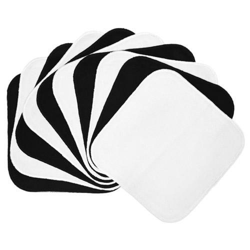 Planet Wise Flannel Wipes (Black/White)