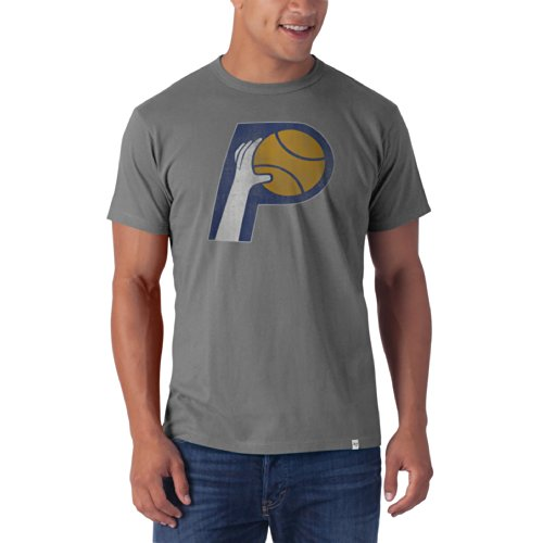Nba Indiana Pacers Men'S Flanker Tee, Wolf Grey, Medium front-964588