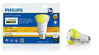 Philips 423244 10-Watt 60-Watt L-Prize Award Winning LED Light Bulb