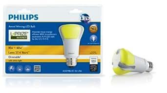 Philips 423244 10-Watt 60-Watt L-Prize Award Winning LED Light Bulb