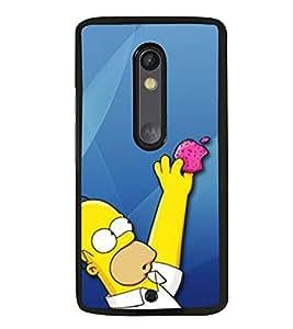 PRINTVISA Funny Cartoon Case Cover for Motorola Moto X Style