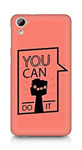 Amez You can Do It! Back Cover For HTC Desrie 826