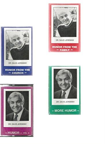 Dr. David Jeremiah, On Humor, Set Of 4 Audio Cassettes