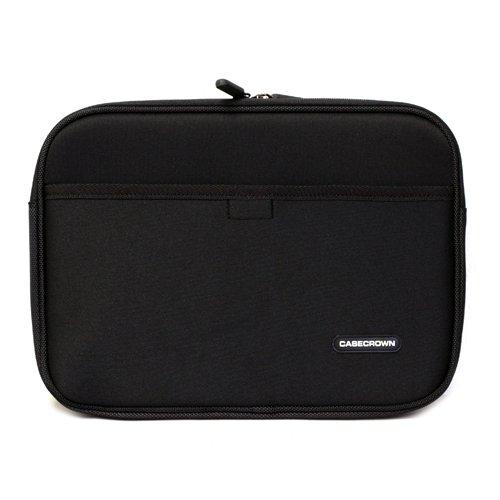 CaseCrown Double Memory Foam Neoprene Netbook Sleeve w/Front Pocket (Black) for the Apple iPad