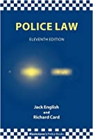 Police Law Blackstone s Police Books by English