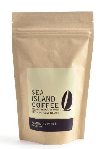Sea Island Kopi Luwak Coffee - Whole Bean - 250g