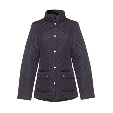 David Barry-Black Padded Womens Jacket