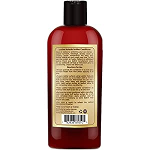 Genuine Leather Conditioner & Restorer Cream - Leather Naturals Rejuvenates Old Leather, Protects & Softens Leather - Best For Moisturizing And Conditioning Furniture, Jacket, Sofa, Boots & Shoes from Leather Naturals