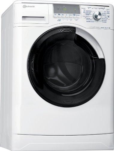 Bauknecht WA Eco Star 7 ES Waschmaschine Frontlader / A+++ A / 1400 UpM / 7 kg / Weiß /  DirektEinsprühSystem DES+ / Ultimate Care /Big window / Vollwasserschutz