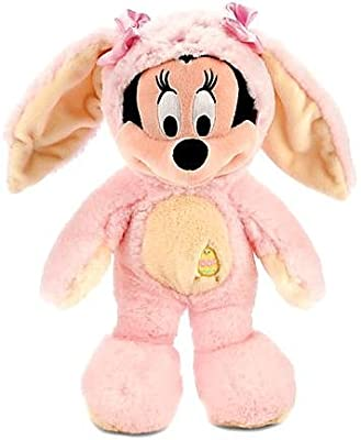 Disney Exclusive 12 Inch Plush Minnie Mouse Bunny [PINK & YELLOW Costume] by Disney