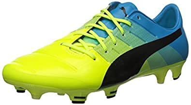 Puma Men s Evopower 1.3 Fg Soccer Shoe Safety Yellow/Black 10.5 D M  US available at Amazon for Rs.34969