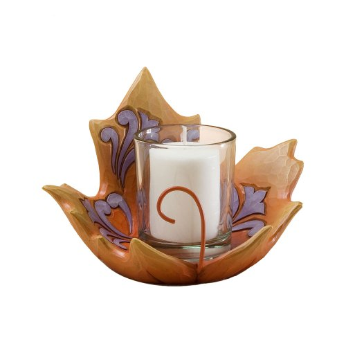 Maple Leaf Votive Holder