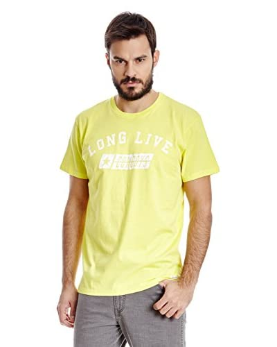 Wrangler Camiseta Manga Corta Amarillo