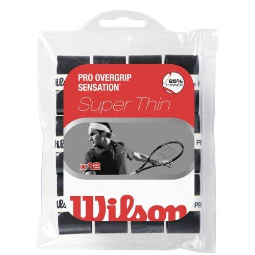 Wilson Pro Overgrip Sensation schwarz 12er