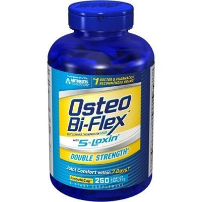 Osteo Bi-Flex Double Strength With 5-Loxin Smoothcap - 250 Coated Caplets front-960530