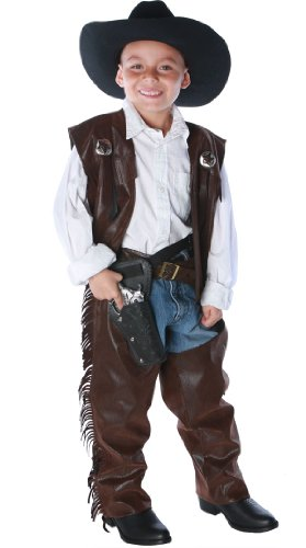 Underwraps Fringed Baby Cowboy Chaps Costume