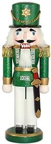 10 Soldier Nutcracker Color Green