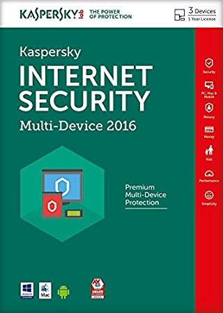 Kaspersky Internet Security 2016 Multi-Device, 3 Devices - FFP (PC)