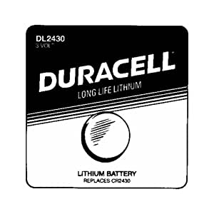 Amazon.com: DURACELL DL-2430B Long-Life Lithium Button Cell Battery