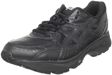 ASICS Men's GEL-Foundation Walking Shoe,Black/Black/Silver,6 M US