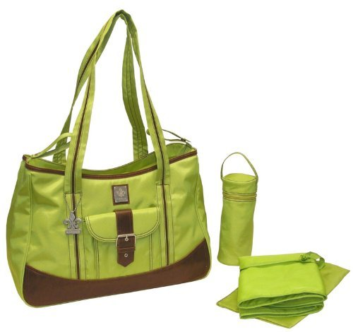 Week-Ender Tote Diaper Bag Color: Power Green front-60623