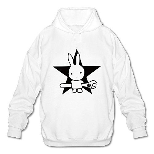 Cleve Tribe Clothing -  Felpa con cappuccio  - Uomo bianco XXL