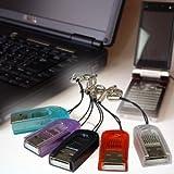 マイクロSDカードリーダー/ストラップ付き(8GBまで対応) (クリア) ランキングお取り寄せ