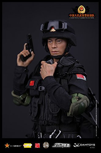 People's Republic of China special forces figurine