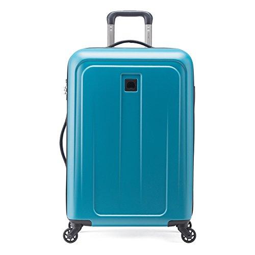 Valigia Trolley Delsey Grande Blu 78 cm 4 Ruote Nuova Linea Epinette