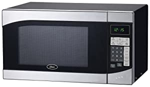 Oster Am980ss 0.9-Cubic Foot, 900-Watt Countertop Microwave Oven by Oster
