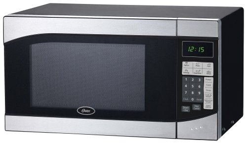 Oster Am980ss 0.9-Cubic Foot, 900-Watt Countertop Microwave Oven