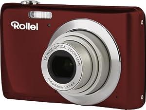 Rollei Powerflex 550 Full HD Digitalkamera (14 Megapixel, 5 fach opt. Zoom,  6,9 cm (2,7 Zoll) Display, USB 2.0)  rot
