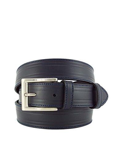 ACQ PIEL Cintura Pelle Acq-03030013Ga-90 [Blu Scuro]