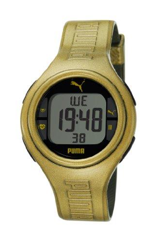 Cheap PUMA Men's PU910541007 Pulse Metallic Gold Heart Rate Monitor Watch (PU910541007)