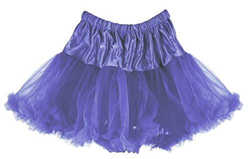 Girls/Todd 2/3 Periwinkle Blue Colorful Affordable and Fun Layered Ruffled Pettiskirt for Dress Up