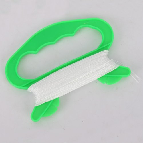 Plastic Outdoor Kite Line Winder Winding Super Twine with 30m White Nylon Line String Flying Tools Set