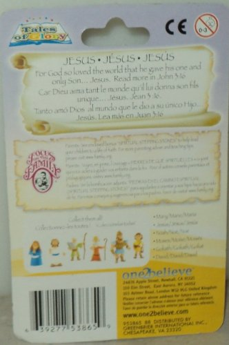 Tales of Glory Jesus Bible Figure Includes Story of Jesus and Figurine