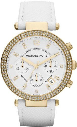 Michael Kors Parker Chronograph Yellow Gold-tone