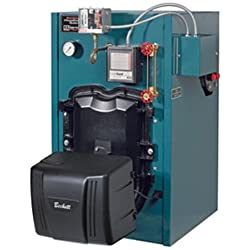 Burnham MST MegaSteam 3-Stage Oil Fired Boiler Less Tankless Coil, 1.05 gph, 95 MBH