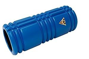 Triggerpoint-VGV-Faszienroller (blau) NEU Massageroller Foamroller Triggerpunktroller zur Selbstmassage Stärke medium in 3 tollen Farben inkl. Übungsbildern und Anleitungen