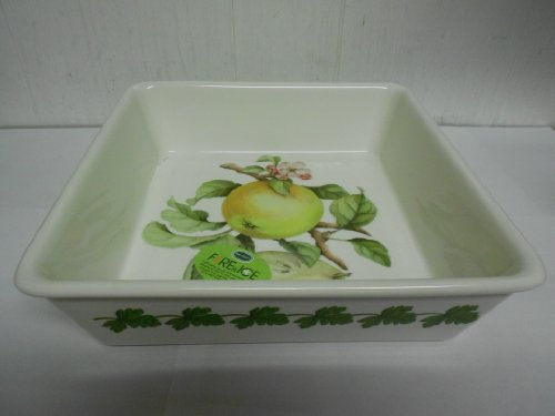 Portmeirion Apple Harvest Large Square Baker