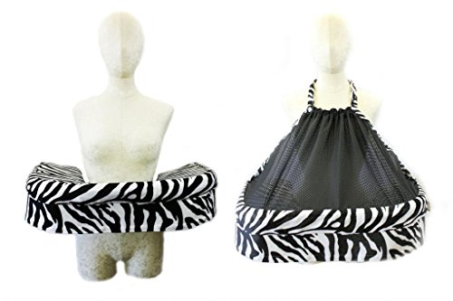 San Diego Bebe Twin Eco Nursing Pillow Zebra - 1