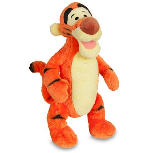 Disney's Winnie the Pooh and Friends Mini Bean Bag Tigger Plush Toy -- 7'' H